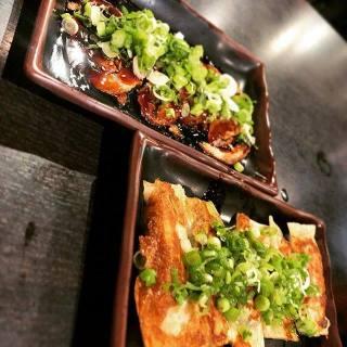 Sliced Roast Pork / Homemade Gyoza