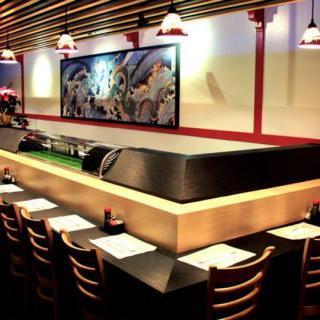 Bishamon interior - Sushi Bar