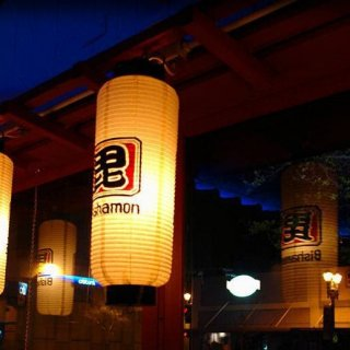 Bishamon interior - window lanterns