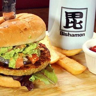 bishamon-veggie-burger