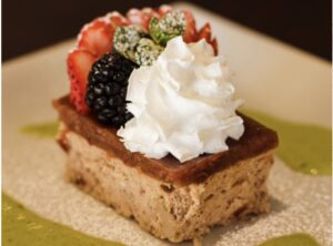 Red Bean Cheesecake