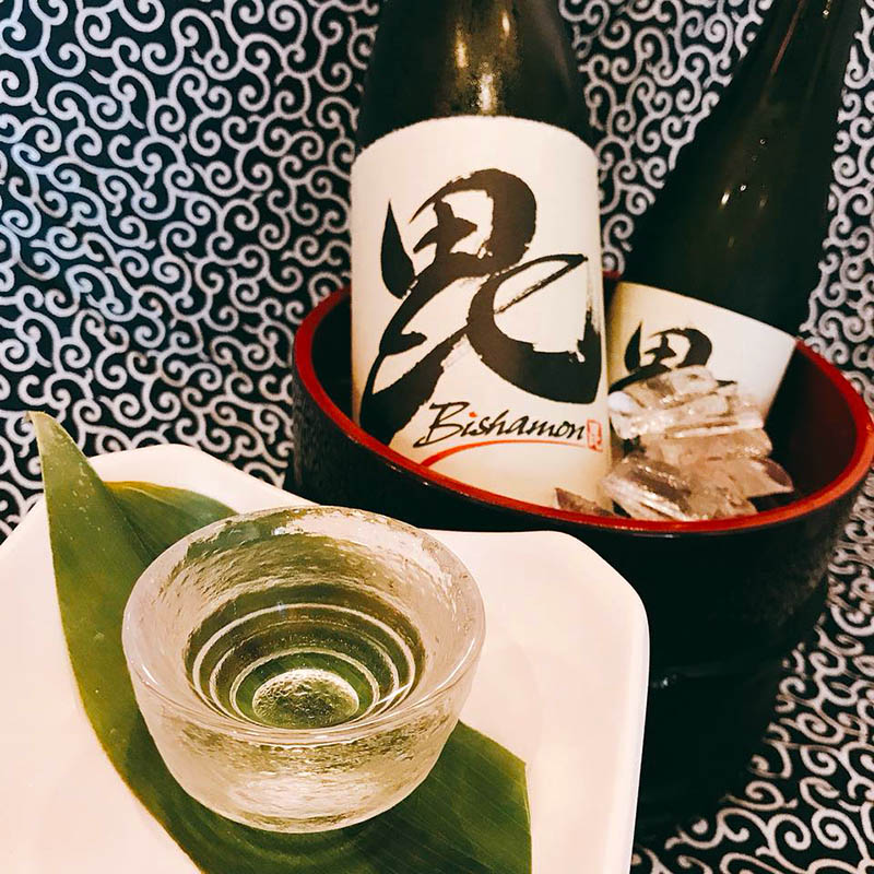 Our original ~ Bishamon Premium Sake