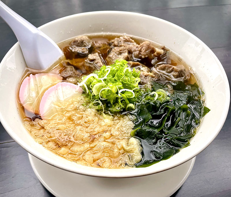 Beef Udon or Soba (Hot )