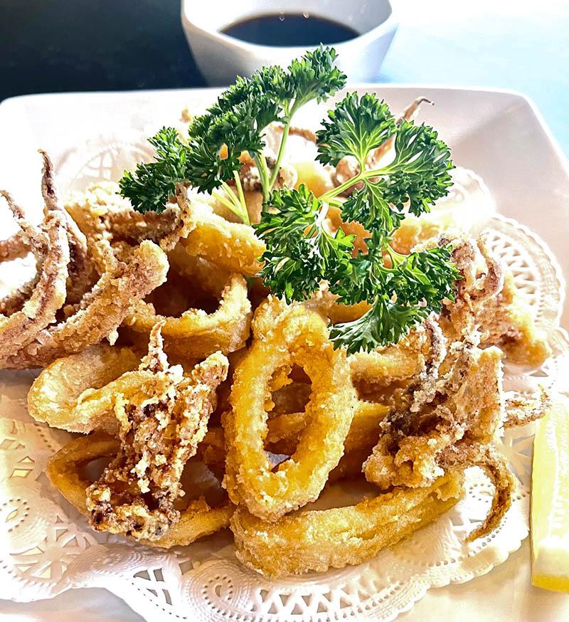 Fried Calamari (Ponzu)