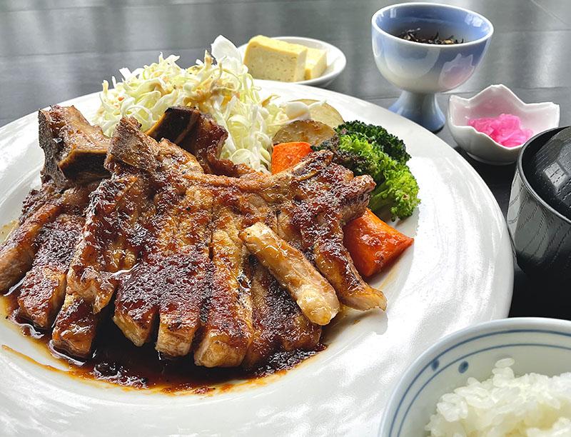 Bone-In Pork Chop Ginger Saute