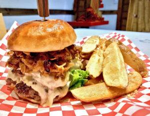 Tamon Burger w/ French Fries