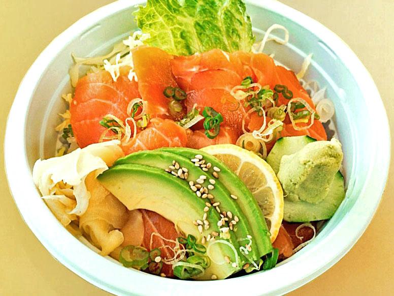 Salmon Sashimi Bowl