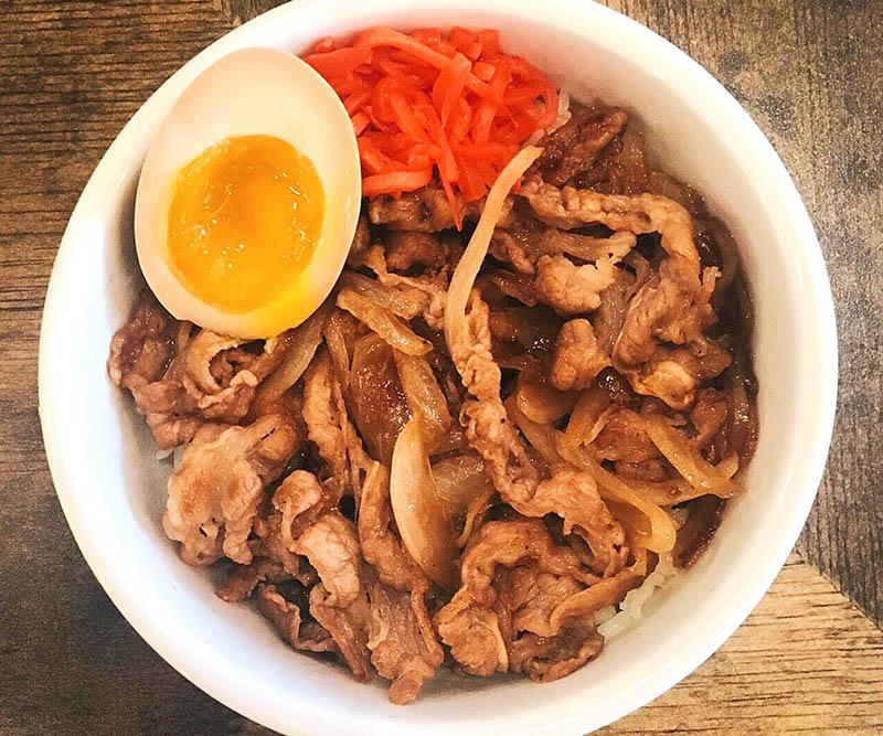 Beef Yakiniku Bowl