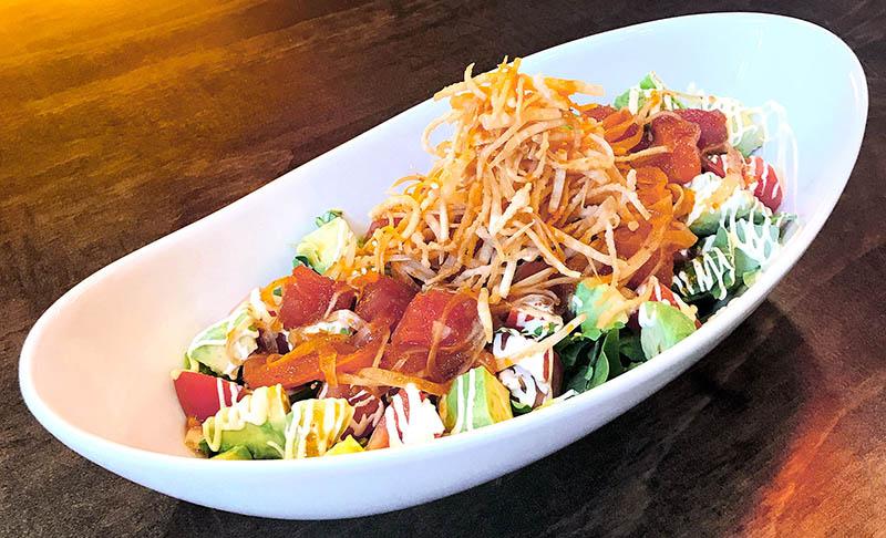 crunchy poke salad