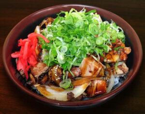 chashu pork bowl