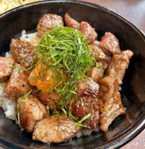 rib-eye steak bowl