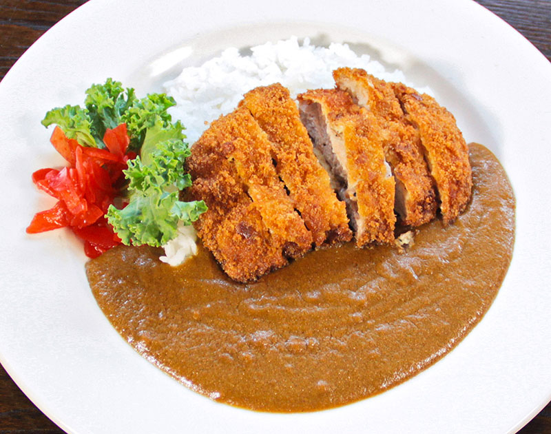 Curry Rice (with Pork Cutlet Topping Add-On)