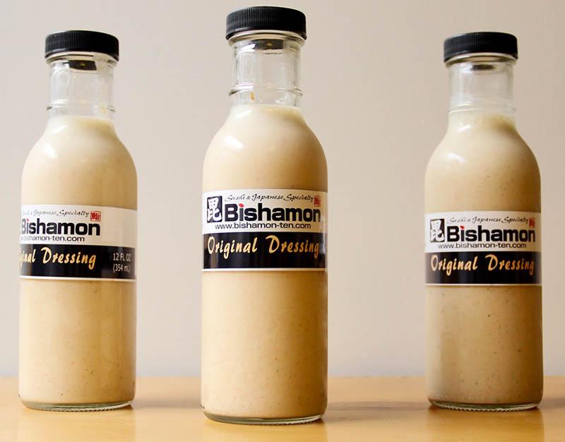 Bishamon Original Dressing 12 ounce bottle