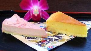 Strawberry Cheesecake / Yuzu Baked Cheesecake