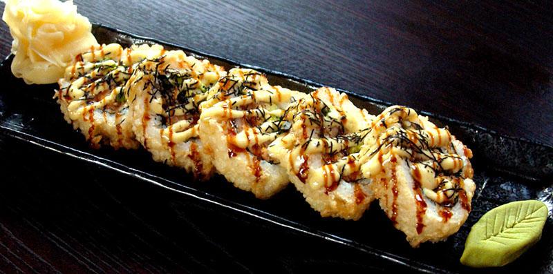Deep Fried Albacore Roll