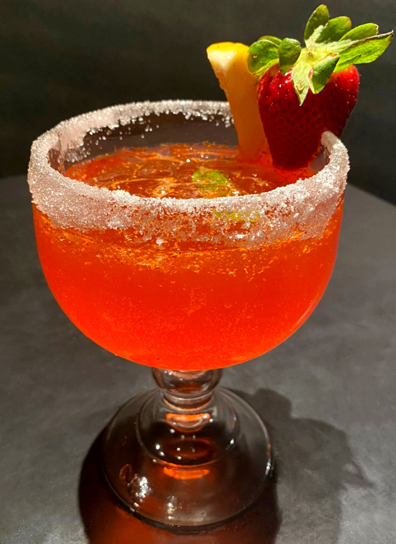 Strawberry Margarita (Shochu Cocktail)