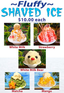 Fluffy Shaved Ice