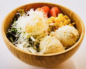 Mixed Greens and Potato Salad