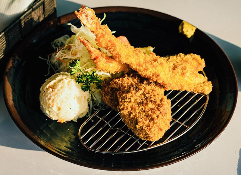 Tonkatsu Fillet + Fried Shrimp