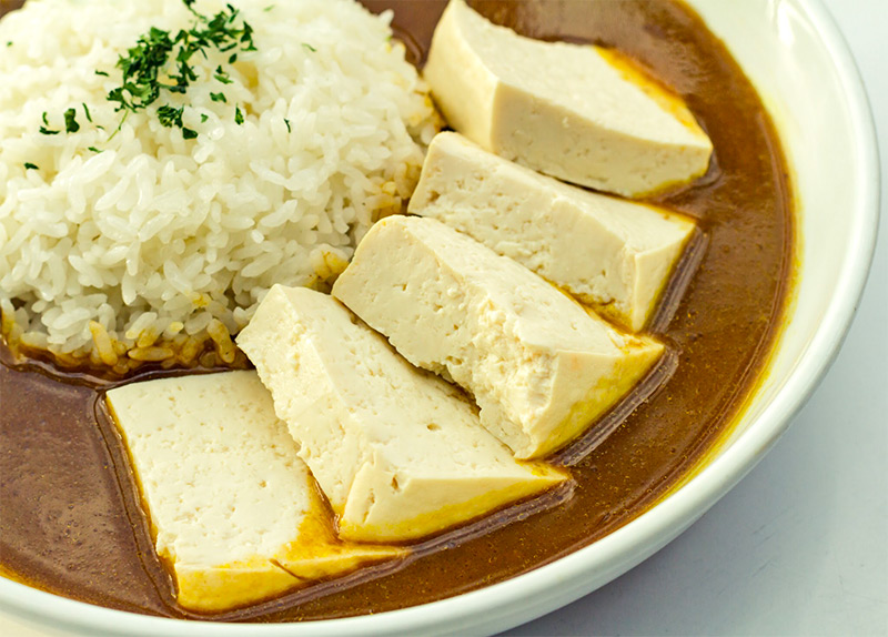 Curry Rice with Tofu