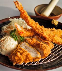 Tonkatsu Loin + Fried Shrimp