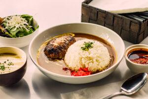 Curry Rice with Hamburg Steak