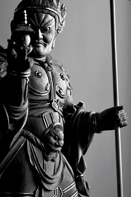 Bishamon statue